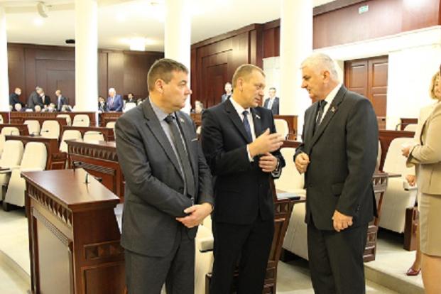 На открытии четвертой сессии Палаты представителей Национального собрания Республики Беларусь 2 октября 2020 года