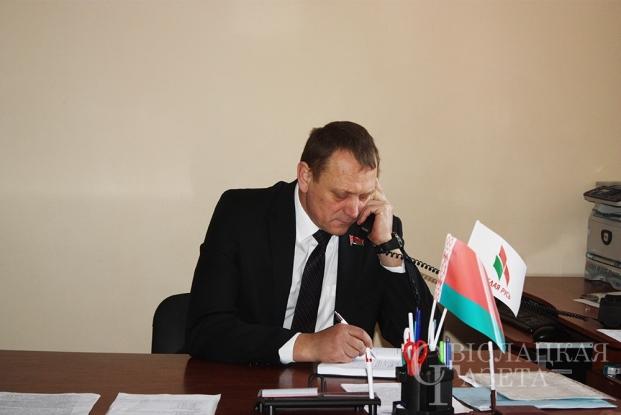Первый прием граждан 21 февраля 2020 года в г.п. Порозово
